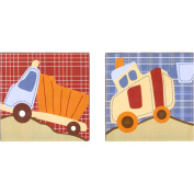 CoCaLo Road Work Canvas ArtBirth-and UP/Birth-and Up 7294-857