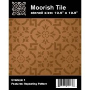 Faux Like A Pro 4031 Moorish Tile Wall Stencil