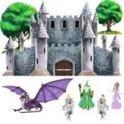 Instant Murals Aufkleberset Prinzessinnenschloss