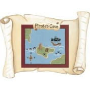 Instant Murals IMD-313 Pirate Map Scroll, Large