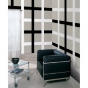 Brewster Home Fashions Wall Pops 'Black Jack and Ghost Stripes' Vinyl Wall Decals Set