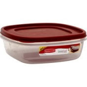 Rubbermaid Easy Find Lids Container & Lid, Extra Clear