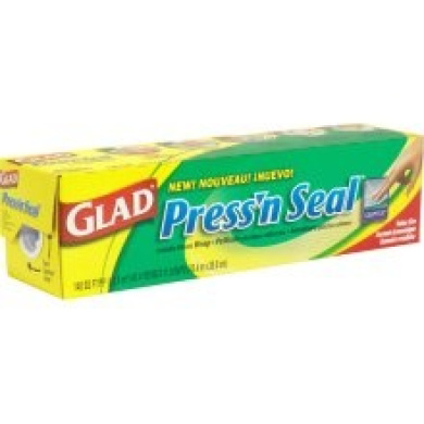 Glad Press'n Seal Sealable Plastic Wrap, with Griptex, Value Size, 13.01 sqm