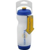 Liberty Bottleworks 422950 Liberty Bottleworks Clean Bottle 22Oz White and Blue