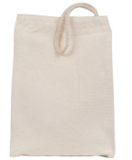 Eco-Bags 1030873 Recycled Cotton Canvas Lunch Sack 1 Bag 17.8cm .w x 26.7cm .h - Case of 10 - Pack