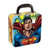 Vandor 74370 Superman Square Tin Tote, Multicoloured