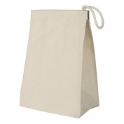 Equinox 145668 7W x 9.5H x 5D Cotton Lunch Bag