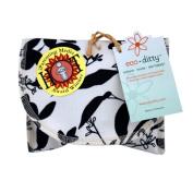 Ecoditty ECD-SDWSBW Organic Snack Bag, Whispering Grass Black/White.