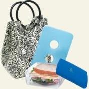 Fit & Fresh 371FF13 Retro Designer Bag Combo