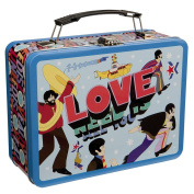 Beatles Yellow Submarine All You Need Large Tin Lunch Box