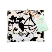 Eco Ditty Sandwich Bag, Whispering Grass Black and White, WD-WSPRBW-O9