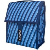 PackIt Freezable Lunch Bag Indigo Stripe One-size