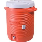 Rubbermaid Commercial Products Water Cooler Orange 10gal #11624, Ea