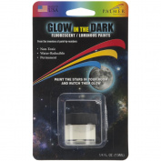 Palmer 490711 Glow In The Dark Fluorescent Paint 5ml-Blue