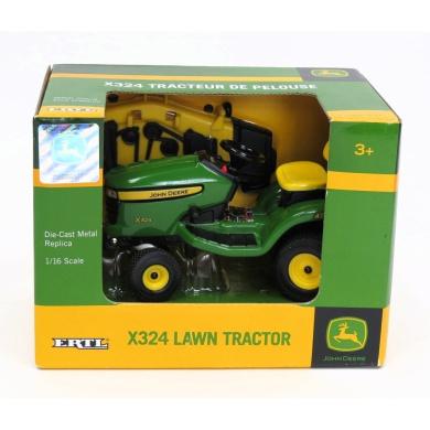 john deere 1:16 scale toy x324 lawn mower tbe45362 by