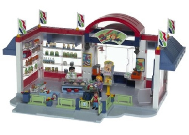 Toys City Life Grocery Store Playmobil
