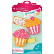 American Girl Crafts Sew and Shares, Cupcakes