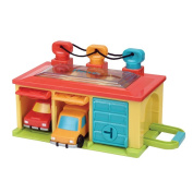 Toysmith Battat Under Lock and Key Garage Toy