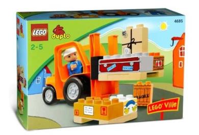 LEGO Duplo 4685 Forklift