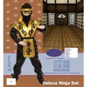 Deluxe Ninja Children's Costume Set by Dress up America