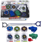 Beyblade Metal Fury Legendary Bladers Set Cosmic Pegasus Fang Leone Phantom Orion
