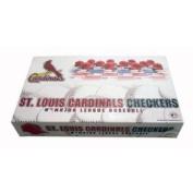 MLB St. Louis Cardinals Checkers