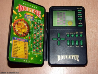 micro games of america handheld roulette