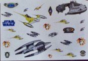 Star Wars Episode 1 Wall Stickers
