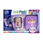 Leapfrog Leappad2 Explorer, Disney Princess Edition. Includes Tablet, Case, 5 Apps and 2 Sticker Sheets