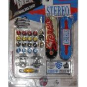 Tech Deck Mini SK8 Shop STEREO Customizable 2 Board Exclusive Set