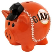 MLB San Francisco Giants Resin Large Thematic Piggy Bank