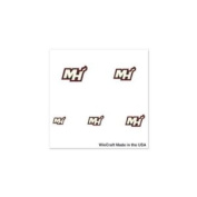 Miami Heat Official Logo Fingernail Tattoos
