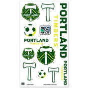 Portland Timbers Official MLS 10cm x 18cm Temporary Tattoos by Wincraft