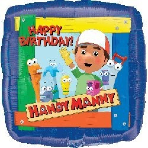 Single source party supplies 46cm handy manny happy for Handy manny decorations