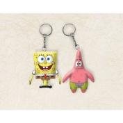 SpongeBob Figurine Keychain - Each