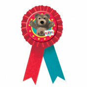 Amscan International Little Charlie Bear Confetti Award Ribbon