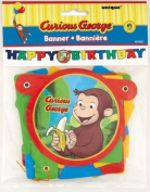Curious George Jointed Birthday Banner