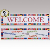 "International ""Welcome"" Banners"