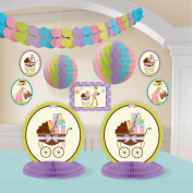 Modern Mommy Baby Shower Room Decorating Kit