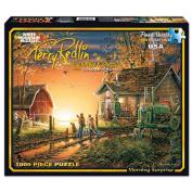 White Mountain Puzzles Terry Redlin Jigsaw Puzzle, 1000pc, 60cm x 80cm