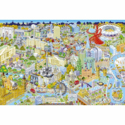 Phil Dobson London From Above 500 Piece Jigsaw Gibson Games
