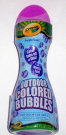 Crayola Outdoor Coloured Bubbles, Purple Pzazz, 120ml