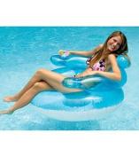 International Leisure Prod 90416 Swimline 110cm Bubble Chair, Light Blue