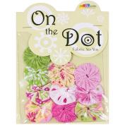 Fabric Palette On the Dot Yo-Yos 3.8cm 100% Cotton 10/Pkg-Flutterby YoYo