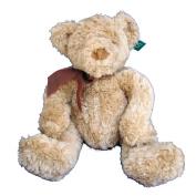 Higgins Plush Curly Blond Teddy Bear By Russ