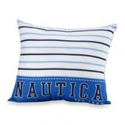 Nautica Kids Drew Large Stripe Toss Pillow