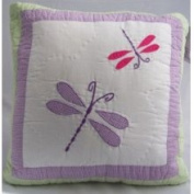 Pem America Dragonfly Butterfly Pillow | PQW3931DPL-1100