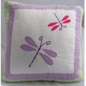 Pem America Dragonfly Butterfly Pillow | PQW3931DPL-1100