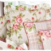 Picci Rose Pillow w/Ruffle
