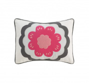 DwellStudio Zinnia Rose Boudoir Pillow